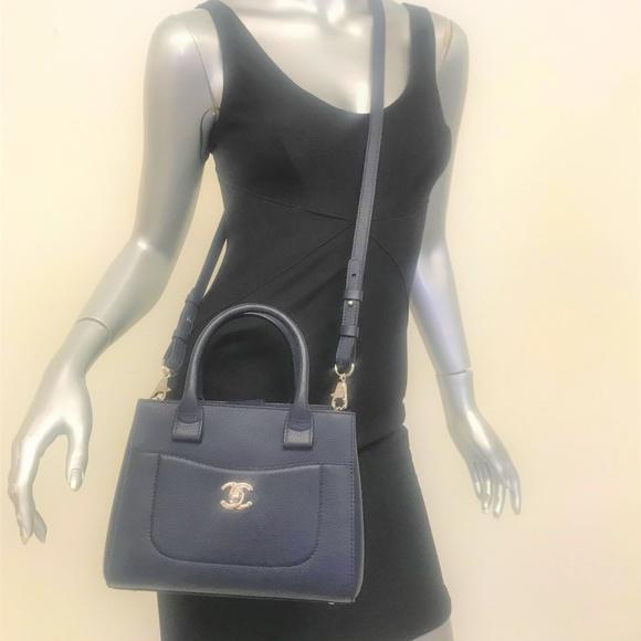 36ab94e03a77 Chanel Bags | Neo Executive Mini Tote Bag Navy | Poshmark